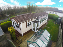 SSTC - £99,950 - 2 Bedroom Detached Mobile Home For Sale in Tregadillett area – click for details
